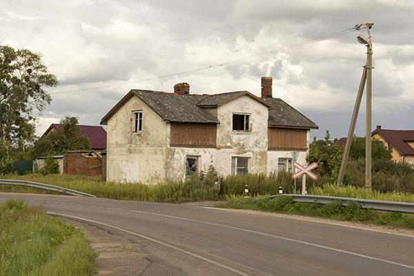 Sosnovka 2016 дом у шоссе