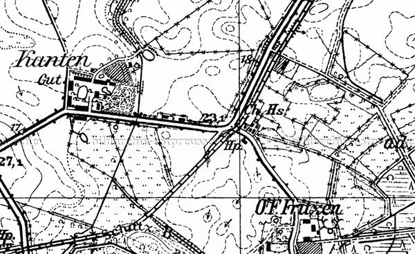 Sosnovka Chausseehaus Kreis Samland map