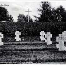 Захоронения и памятники Первой мировой войны