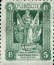 Stamp_Marienwerder_1920_5pf_second_version
