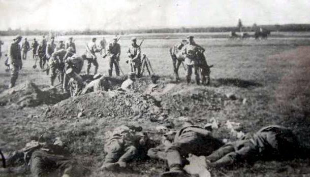 захоронения первой мировой войны