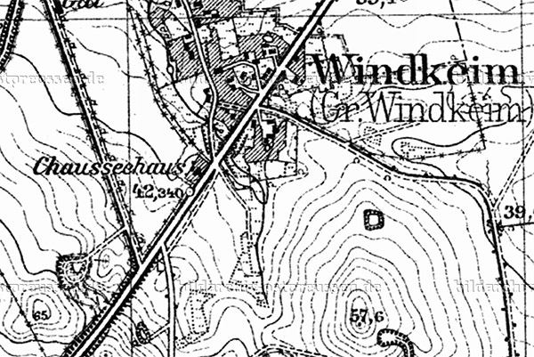Windkeim - Razdolnoe map