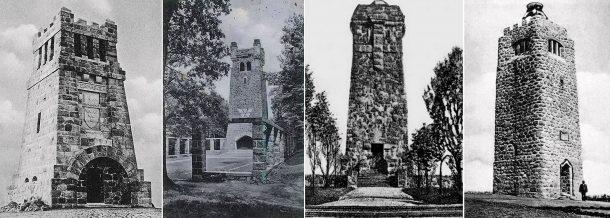 башни бисмарка в восточной пруссии