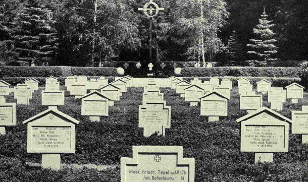 воинские захоронения первой мировой войны в восточной пруссии