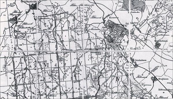 rominten_map_kvartals лесоустройство роминтской пущи