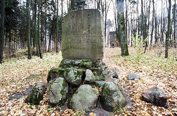 Bismarck turm Denkmal Srokowo 2010