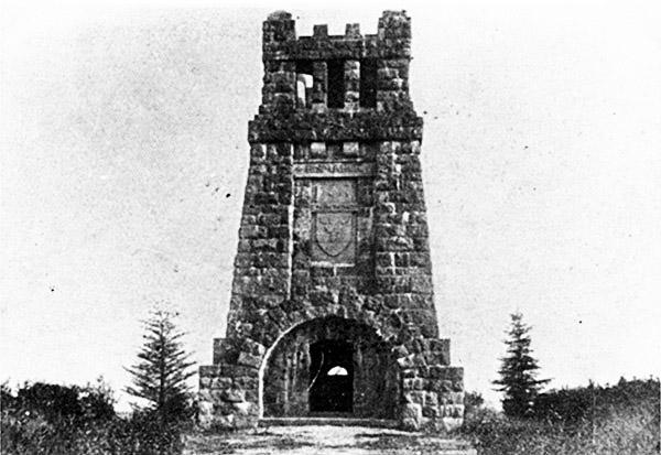 Bismarckturm Kallner Hohen Gumbinnen