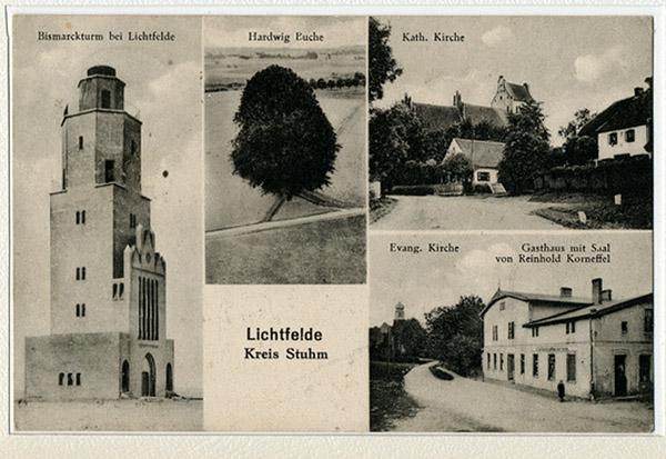 Bismarckturm Lichtfelde Kreis Stuhm
