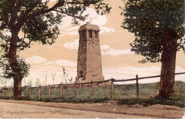 Bismarckturm Ober Eisseln 1927