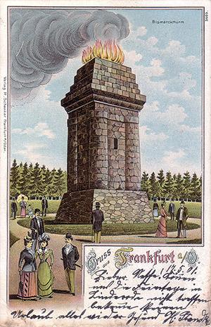 Frankfurt Oder Bismarckturm 1901
