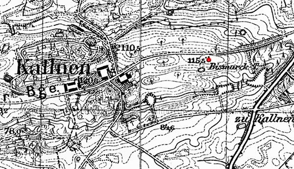 Kallnen map башня бисмарка