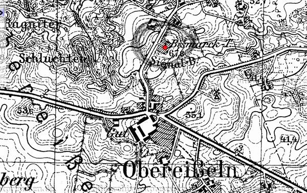 Ober-Eisseln map
