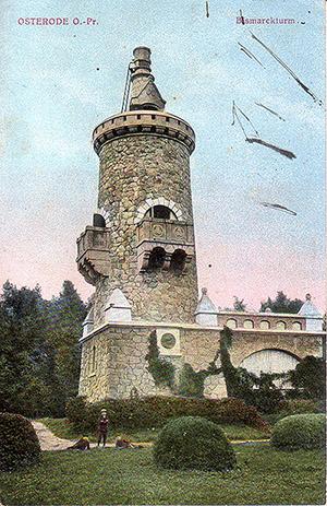 Osterode Bismarck Turm 1916