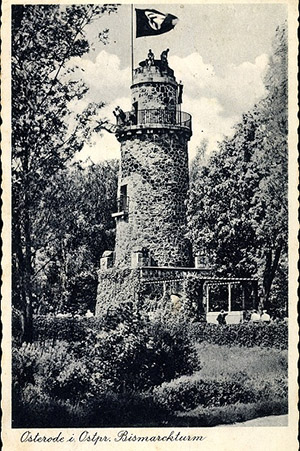 Osterode Bismarckturm 1940