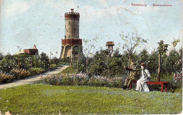 Sensburg Bismarck Turm 1918