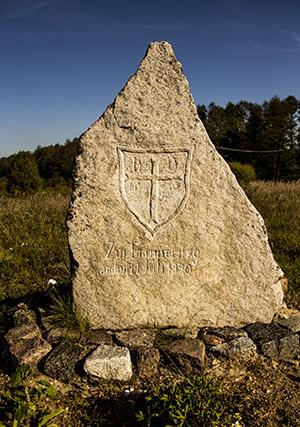 polom-2016 памятный камен плебисцит на вармии и мазурах