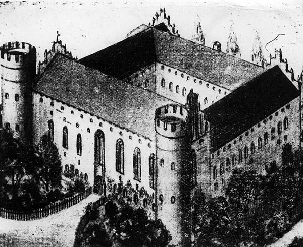 shloss-barten замок Бартен