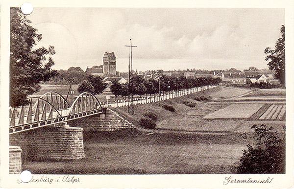 allenburg-1936 дорога и её окружение