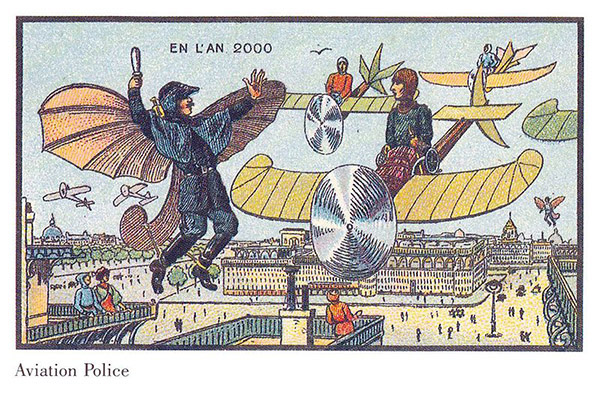 france_in_xxi_century-_flying_police франция в 2000 году