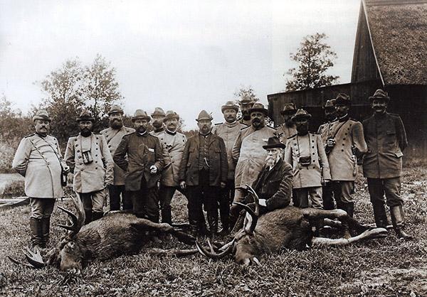 oberforsterei-tawellningken-september-1909