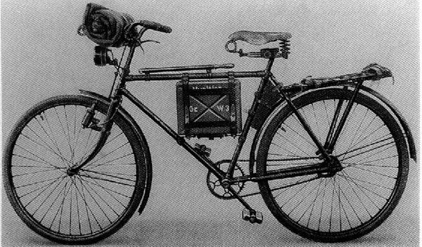 Truppenfahrrad Granatwerfer 36
