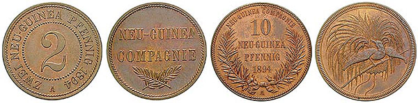 монеты Германской Новой Гвинеи