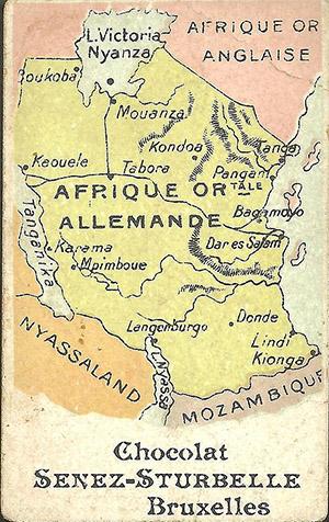 немецкие колонии в африке