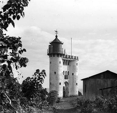 башня Бисмарка, колонии Германии