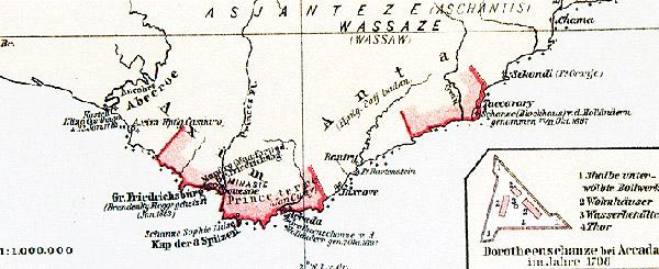 колонии бранденбурга в африке