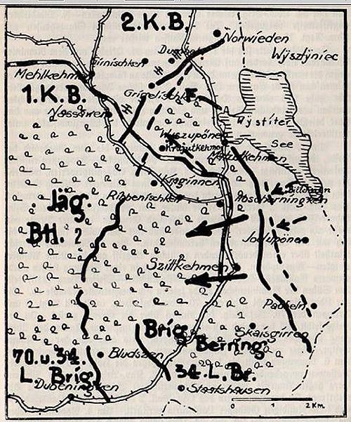 первая мировая война в Роминтской пуще