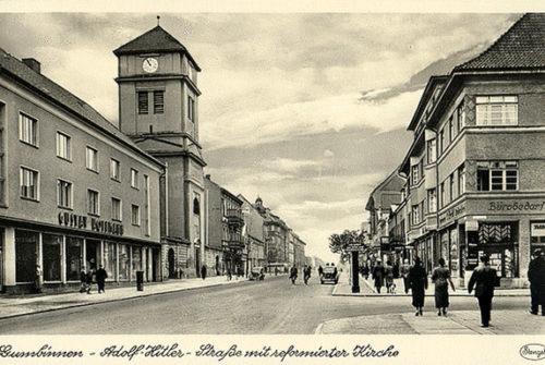 Религиозные общины и культовые сооружения Гумбиннена