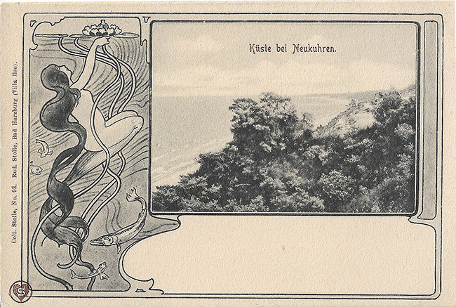 эротика и юмор на старых открытках
