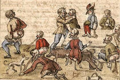 Легенда о двух братьях-рыцарях и прусском пиве