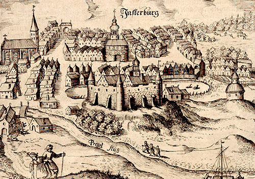 Инстербург — пограничный замок Немецкого ордена