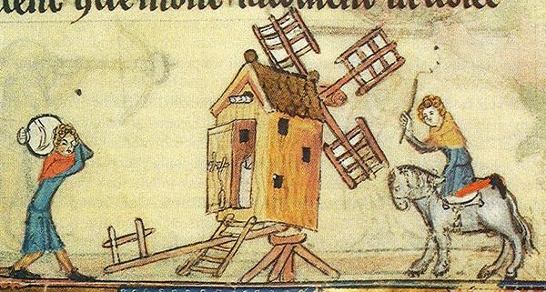 ветряные мельницы орденской пруссии